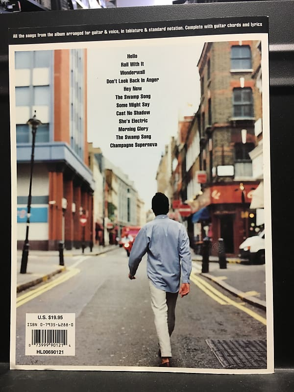 Oasis What's the Story Morning Glory Guitar TAB Edition