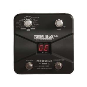 Mooer GEM Box LE Multi-Effect with Amp Simulator