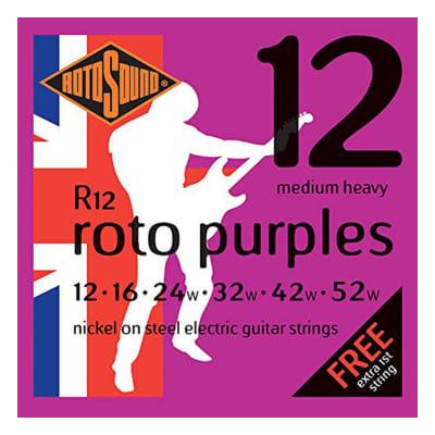 Rotosound R12 Roto Purples - Medium Heavy (12-52)