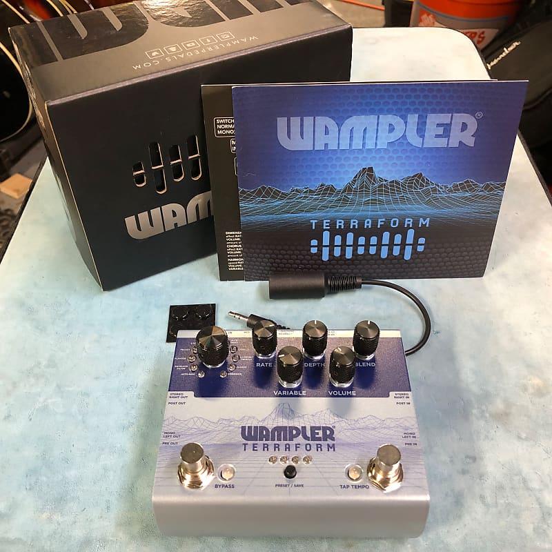Wampler Terraform Modulation Multi-Effects Pedal w/ Box