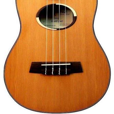 Kremona Coco Tenor Ukulele with CGGB-BK Hardshell Case, 18 Frets, Rosewood Fingerboard, Solid Cedar Top, Solid Rosewood Back & Sides, Matte for sale