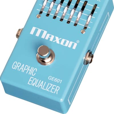 Maxon Nine Series GE601 Graphic Equalizer Japan Made Pedal for sale