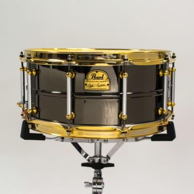 "Pearl SF1465 14x6.5"" Steve Ferrone Signature Brass Snare Drum"