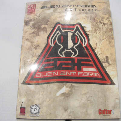 Alien Ant Farm - Anthology - Sheet Music Song Book Songbook Guitar Tab Tablature