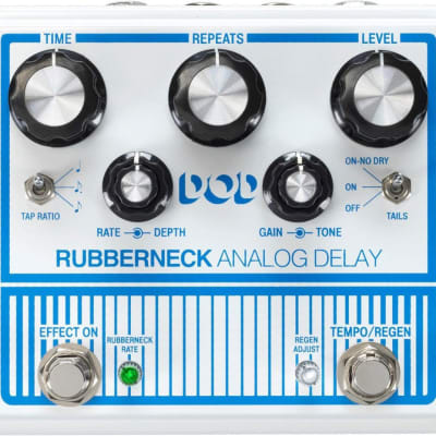 DOD Rubberneck Analog Delay Effects Pedal for sale