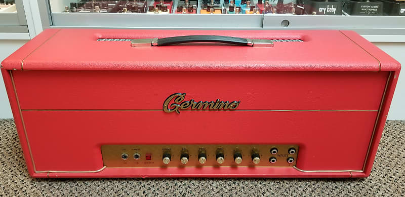 used germino headroom 100 tube amp head very good condition reverb. Black Bedroom Furniture Sets. Home Design Ideas