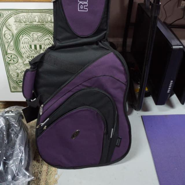Ritter RCG500-9-E Electric Guitar Gig Bag Black and Raspberry image