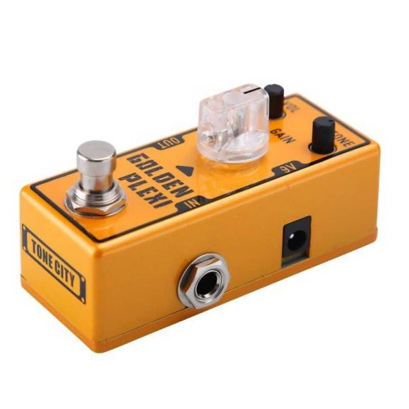 tone city golden plexi distortion tc t7 guitar effect pedal reverb. Black Bedroom Furniture Sets. Home Design Ideas