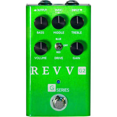 Revv G2 - Preamp/Overdrive/Distortion Pedal