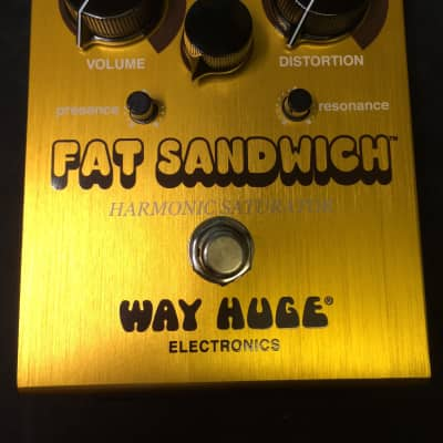 Way Huge Electronics Fat Sandwich Harmonic Saturator OD/ Distortion Pedal