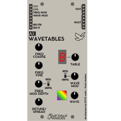Tangible Waves  - WAVETABLES