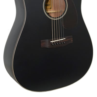 Aria ARIA-111-MTBK Vintage 100 Dreadnought Spruce Top Mahogany Neck 6-String Acoustic Guitar for sale