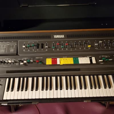 Yamaha CS-60 Polyphonic Analog Synthesizer- 1978 Original In Case