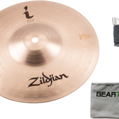 "Ziljdian ILH10S 10"" I Splash Cymbal w/ Cloth and Cymbal Stacker"