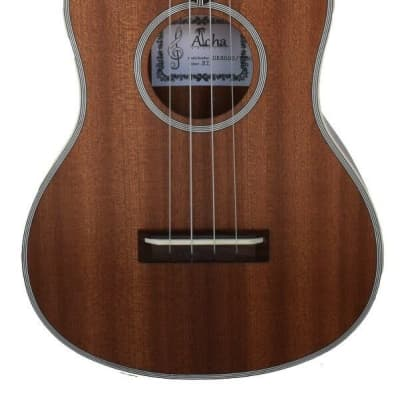 New Aloha UK8000  Solid Top Tenor Ukulele with Arched Back for sale
