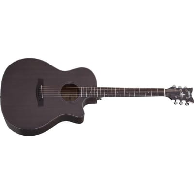 Schecter Orleans Studio Acoustic, Satin See-Thru Black for sale
