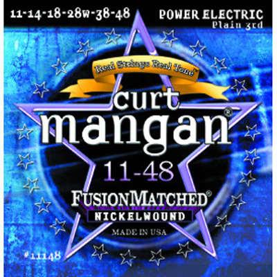 Curt Mangan Nickel Wound Electric Guitar Strings 11-48
