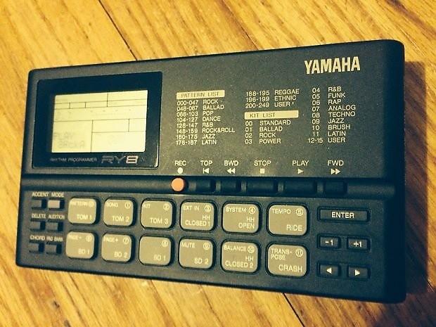 yamaha ry8 portable rhythm programmer drum machine reverb. Black Bedroom Furniture Sets. Home Design Ideas