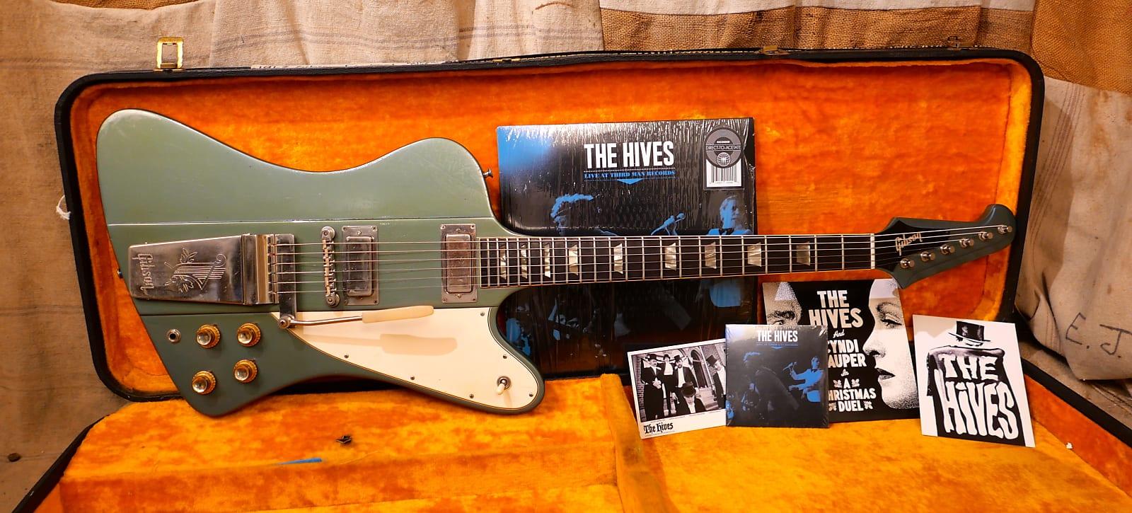Gibson Firebird in Pelham Blue