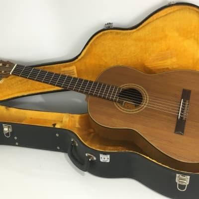 Rare Vintage Hashimoto Gut Guitar Classical '69 Natural Original Vintage Hard Case MIJ Japan for sale