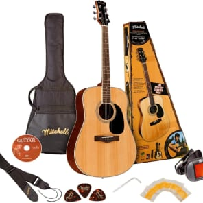 Mitchell D120PK Acoustic Guitar Value Package for sale