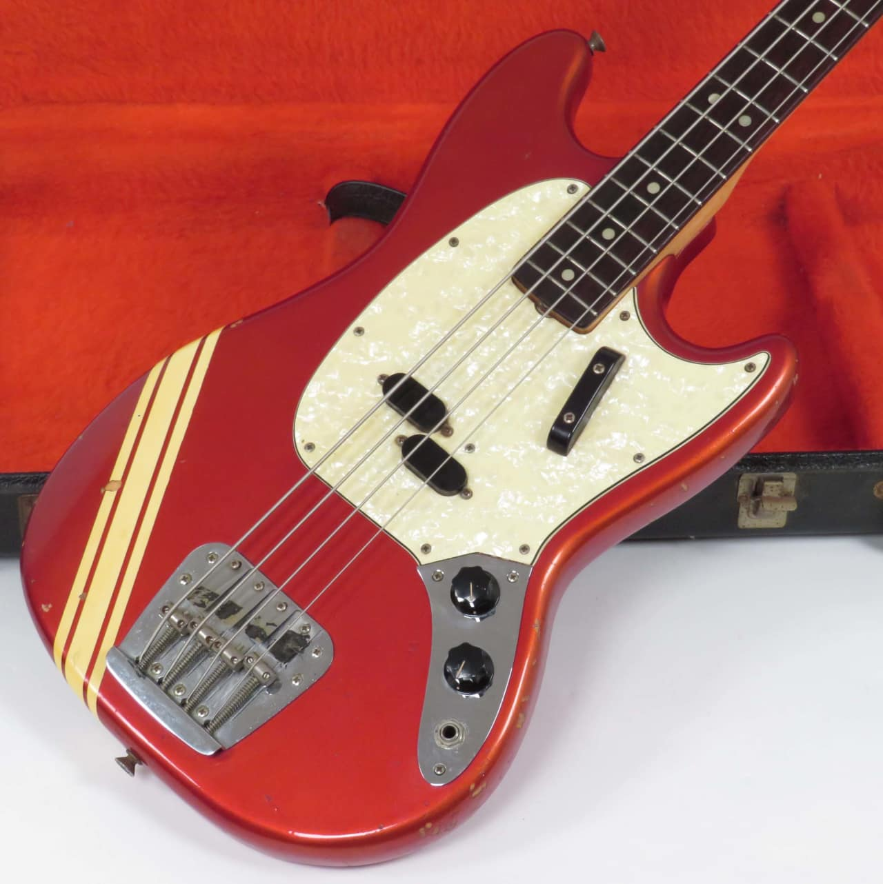 Fender Mustang Bass 1968 Competition Red | Nationwide ...