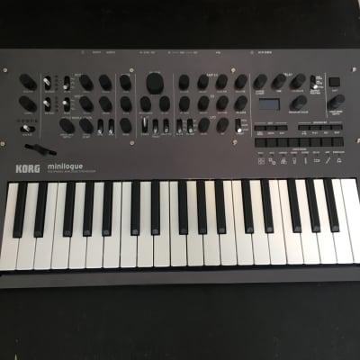 Korg Minilogue PG (Polished Grey) 4-voice Analog Polyphonic Synthesizer