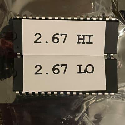 Ensoniq 2.67 ASR-X Latest OS Upgrade + Free Wrench - ROM Set (both chips) v2 ASRX EPROM update kit