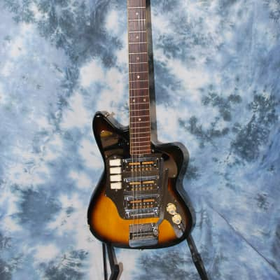 1964 Audition Kawai Made Ry Cooder Gold Foil Pickup Pro Setup Original Case for sale