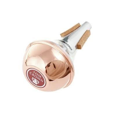 Tom Crown Gemini Trumpet Mute Straight Copper End