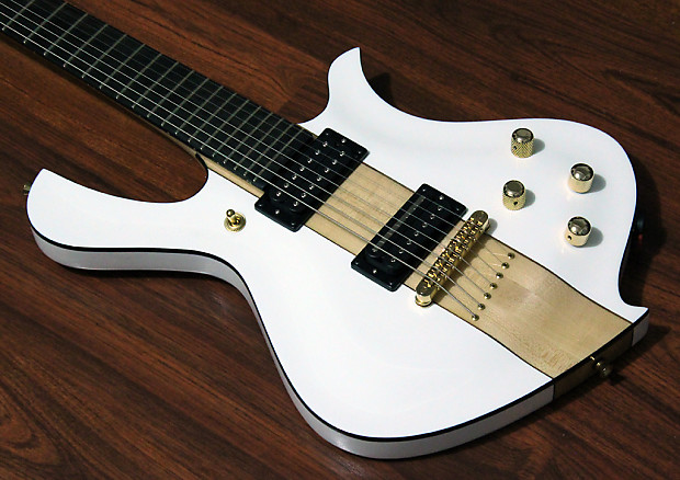 halo custom guitars xsi 7 string white reverb. Black Bedroom Furniture Sets. Home Design Ideas