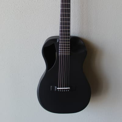 Brand New Journey OF660 Overhead Carbon Fiber Acoustic/Electric Travel Guitar - Black Matte for sale