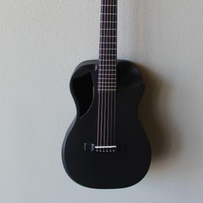 Brand New Journey OF660 Overhead Carbon Fiber Acoustic/Electric Travel Guitar - Black Matte for sale