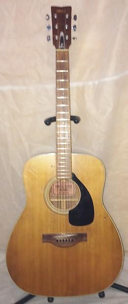 Yamaha Fg Red Label Guitar