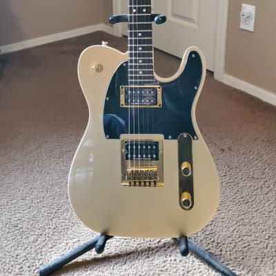 Squier J5 Telecaster Frost Gold 2010s