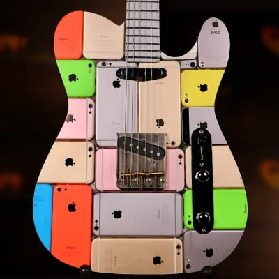 Copper iCaster Telecaster iPhone guitar 2019