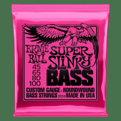 Ernie Ball Super Slinky Electric Bass 45-100 2834