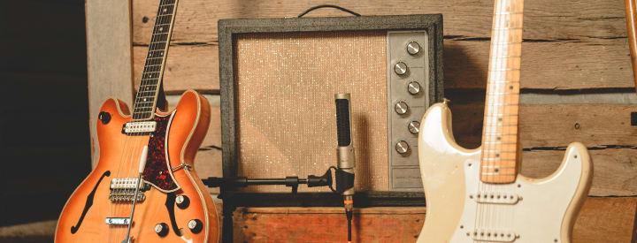 Vintage Amps EE Horizontal