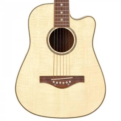 Daisy Rock 'Wildwood' Short Scale Acoustic Guitar Bleach Blonde for sale