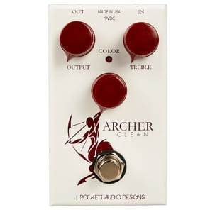 J. Rockett Audio Designs Archer Clean Color Boost Guitar Effects Pedal for sale