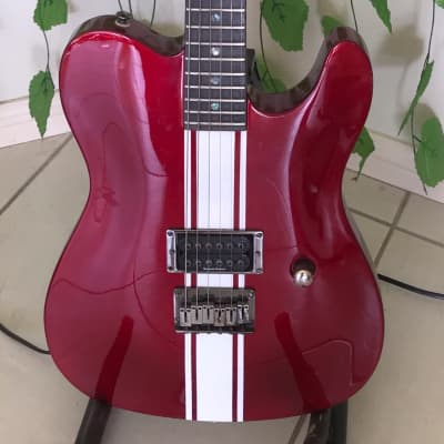Fender Esquire gt 2003 Candy apple red with gt stripe for sale