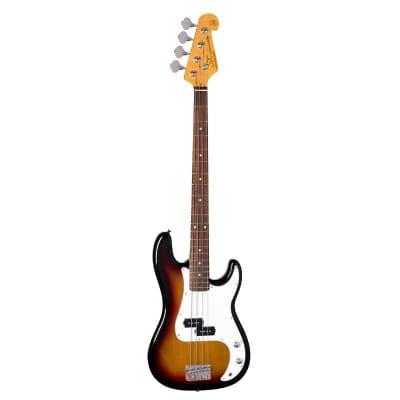 SX Electric Bass PB - Sunburst / Default Size / Left Hand for sale