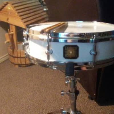 Fred Gretsch 4 X 14 Vanguard Model Fabricated January 2008 Pearlescent White