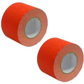 "Seismic Audio SeismicTape-604 60-Yard/Roll Gaffer's Tape - 4"" (2-Pack)"