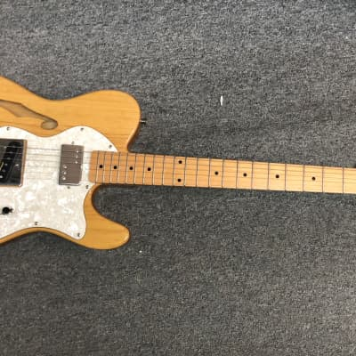 Dillion  Telecaster Deluxe Hollow Natural Hand crafted for sale