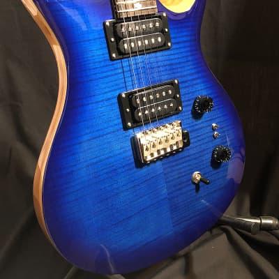 Paul Reed Smith 35th Anniversary SE Custom 24  Faded Blue Burst