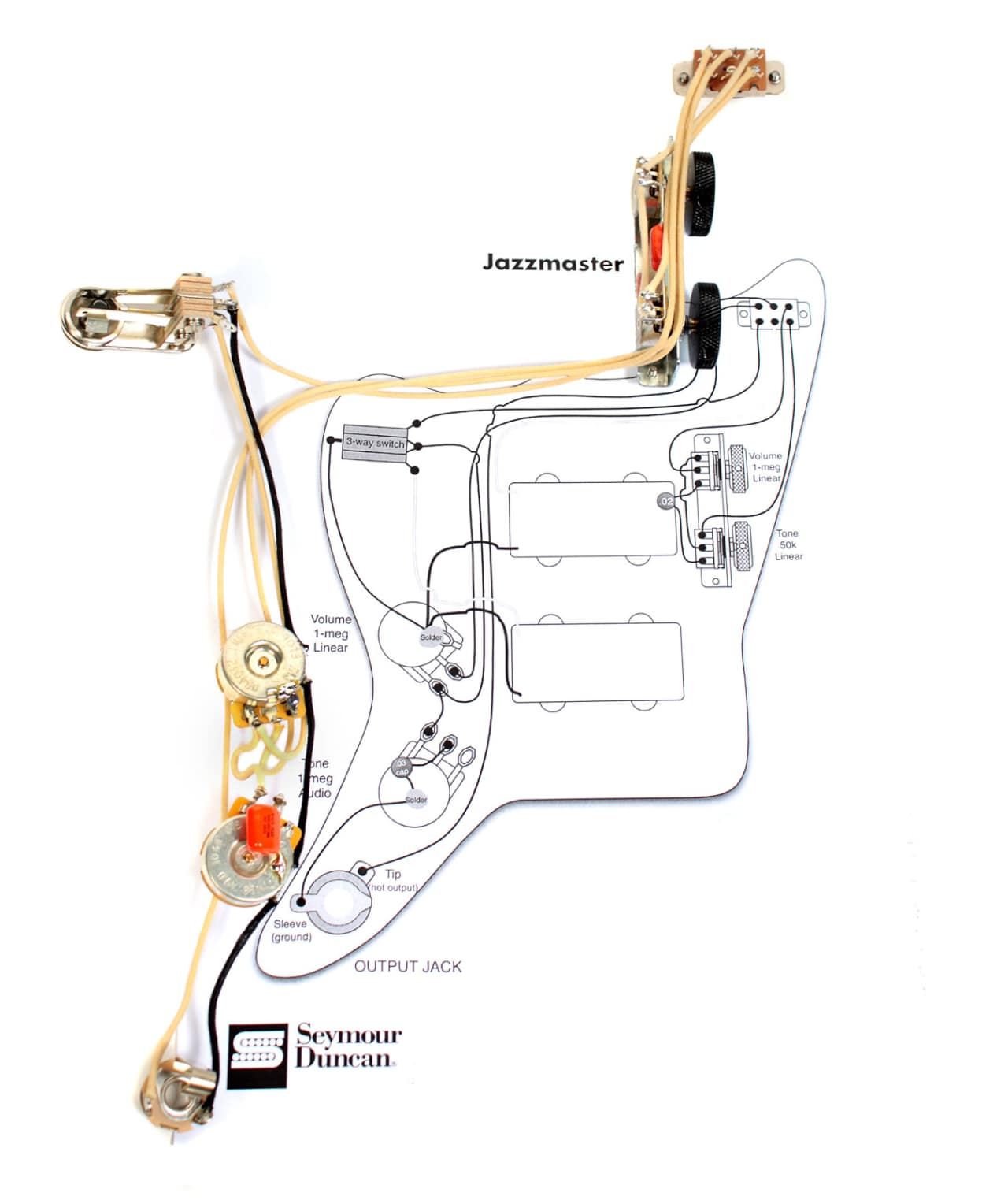 all parts jazzmaster wiring diagram squier jazzmaster wiring diagram