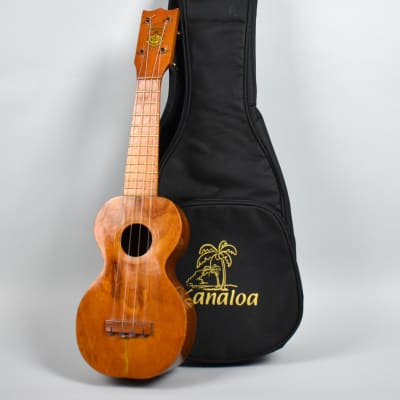 Circa 1920-1930 Kumalae  Style 1 Koa Soprano Vintage Ukelele Natural w/Gig Bag for sale