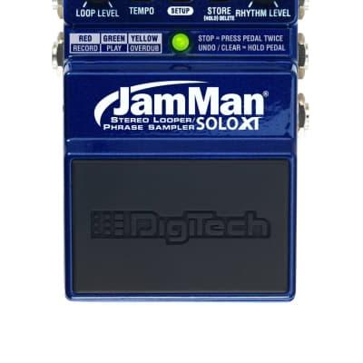 Digitech JMSXT Jamman Solo XT Stereo Compact Looper Pedal for sale