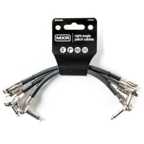 "MXR 3PDCP06 6"" Oxygen-Free Copper Conductor Patch Cables (3-Pack)"